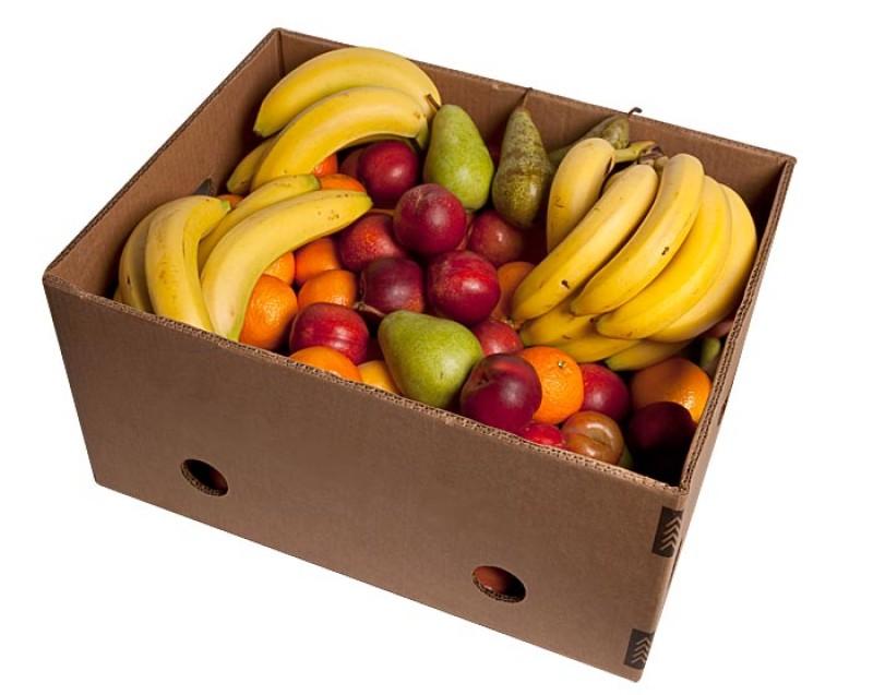 Massevis af frisk frugt til alle ansatte