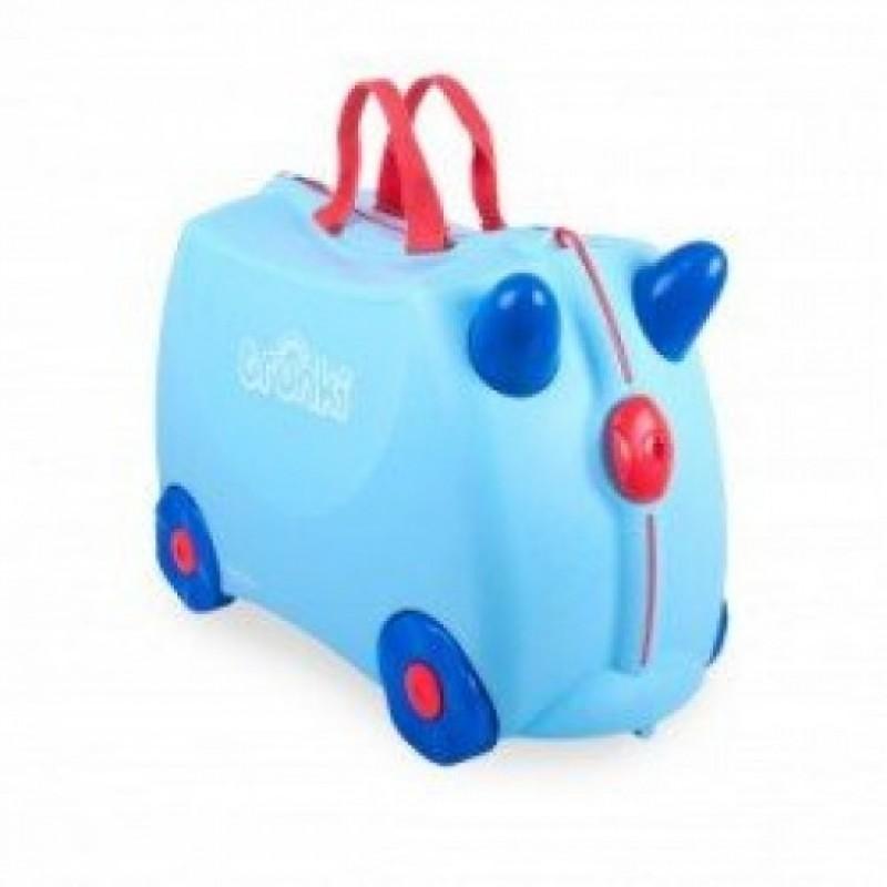Her finder du en børnevenlig kuffert til familieferien